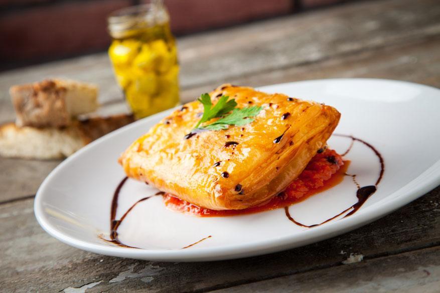 Pan fried FETA cheese